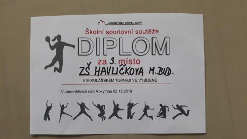 008 Mikulášský turnaj ve vybíjené Jaroměřice 2019 12 02 (8)